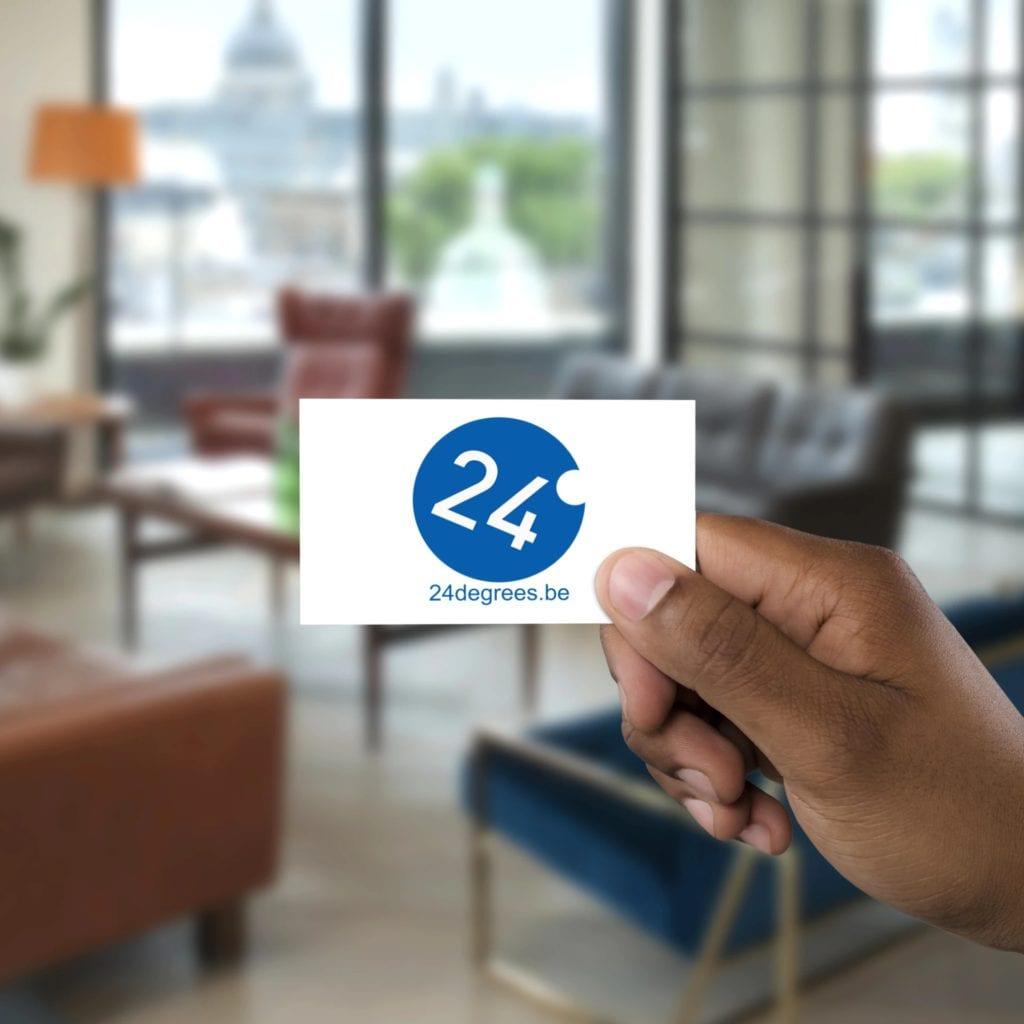 Visitekaartje van 24 Degrees